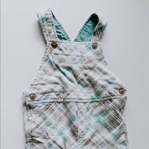 Other - Plaid overall Shorts